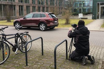 Touareg-Shooting in Wolfsburg