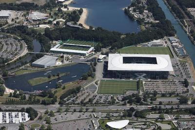 Gelände um die Volkswagen-Arena