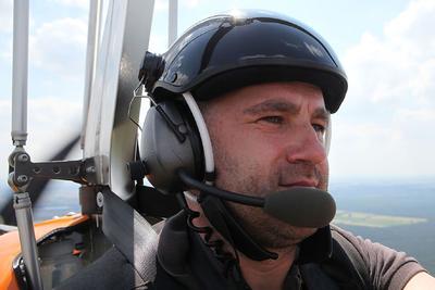 Im Gyrocopter