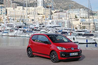 up! GTI Präsentation in Monaco