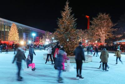 Winter Wunder Stadt